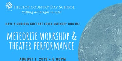 Meteorite Hunting in your Yard Workshop and Theater Performance