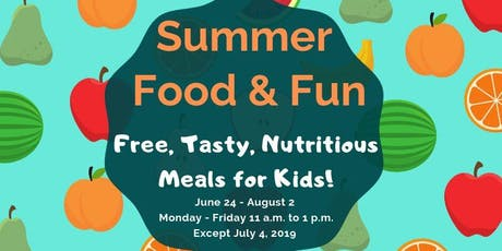 Summer Food Service Program tickets