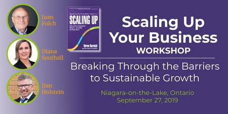 Scaling Up Your Business: Breaking through the Barriers to Sustainable Growth tickets