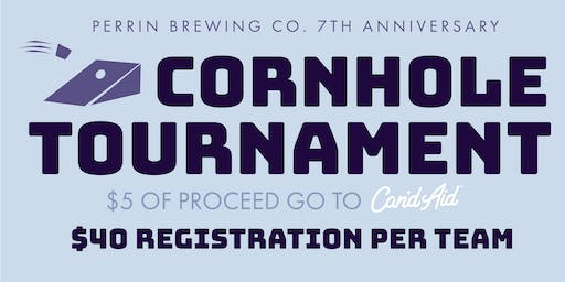 Annual Michigan Cornhole Tournament at Perrin Brewing 2019