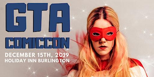GTA Comic Con 2019 Vendor Table Registration