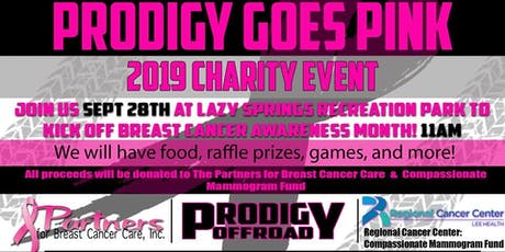 Prodigy Goes Pink 2019 tickets