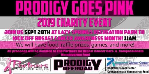 Prodigy Goes Pink 2019