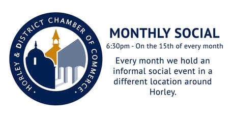 The Horley Chamber of Commerce - Mid-Month Social tickets