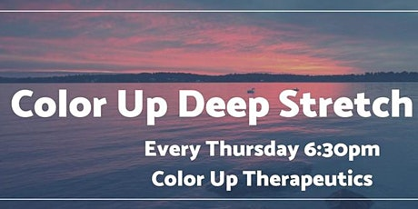 Color Up Deep Stretch tickets