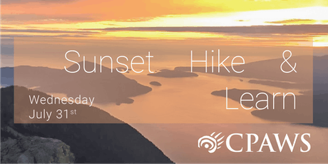Sunset Hike & Learn #1 | Black Mountain in Cypress Provincial Park tickets