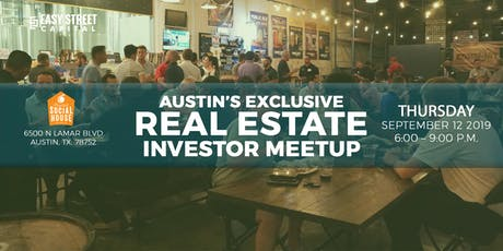 Austin's Exclusive REInvestor Meetup with Easy Street Capital tickets