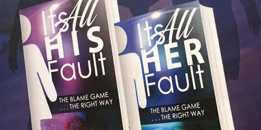 The Blame Game Book Release