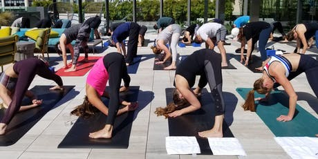 Rooftop Yoga + Brunch tickets