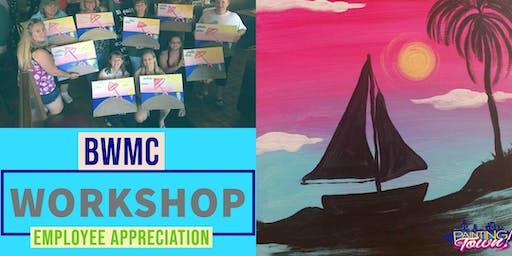 BWMC Employee Appreciation Paint Night