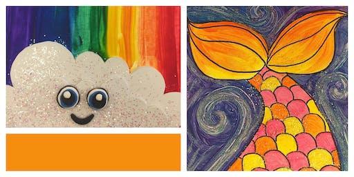 Glitter & Glow Homeschool Weekly Class (5-12 Years)