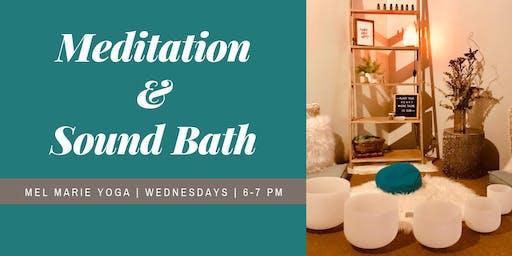 Meditation and Sound Bath