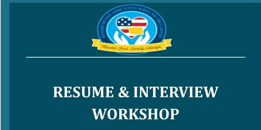 Resume and Interviewing Workshop