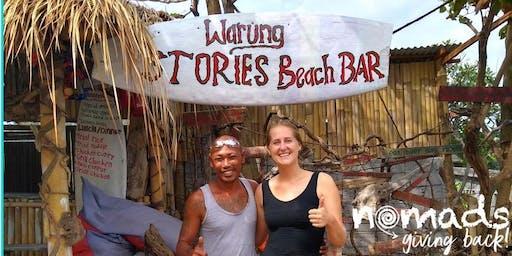 Let's Support A Local Business! Warung Stories Beach Bar!
