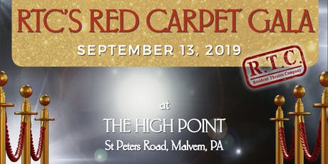 RTC's Red Carpet Gala tickets