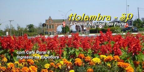 passeio de 1 dia - Holambra – Expoflora – 15 de Setembro de 2019  ingressos