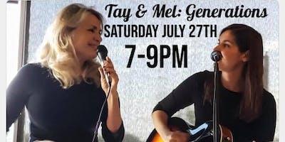 Live Music - Tay & Mel Generation