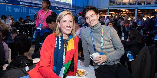 Blue Line Lounge Presented by TCS at the TCS New York City Marathon