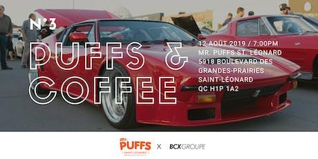 Puffs & Coffee N°3 tickets