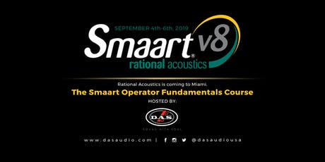 The Smaart Operator Fundamentals Course tickets