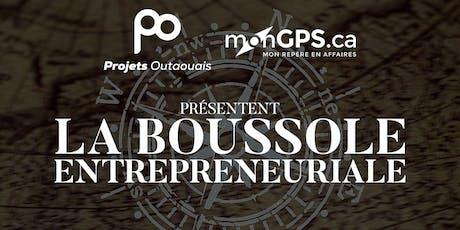 Boussole entrepreneuriale tickets