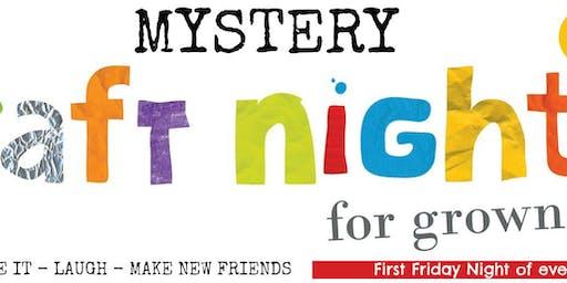 Mystery Craft Night