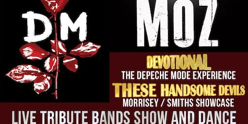 Depeche Mode and Morrissey Live Tribute Bands