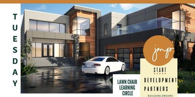 Lawn Chair Learning Circle - Onsite Luxury Construction BootCamp