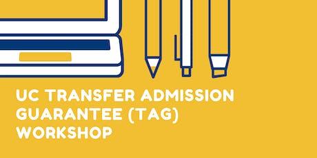 UC TAG Workshop tickets
