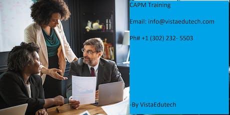 CAPM Classroom Training in San Luis Obispo, CA tickets