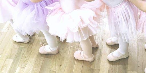Pre-Ballet {2.8 - 2.11 yrs. old}