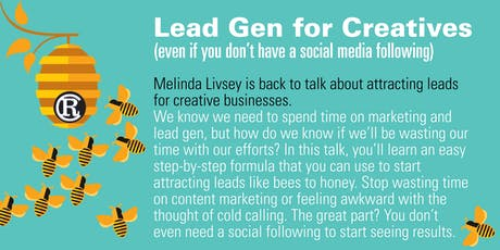 Lead Gen for Creatives  tickets