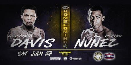 Fight Night at Pop's: Davis vs. Núñez tickets