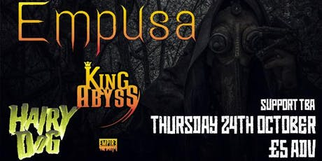 Sobriquet w/ King Abyss - The Hairy Dog, Derby tickets