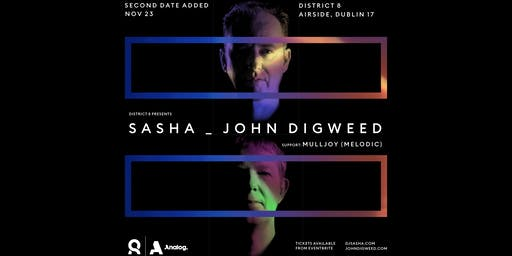 Sasha & John Digweed at District 8 - Day 2