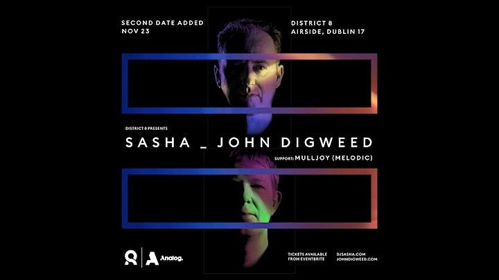 Sasha & John Digweed at District 8 - Day 2 image