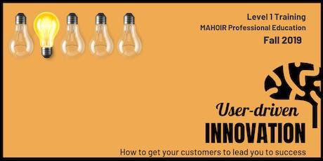 User-driven Innovation tickets