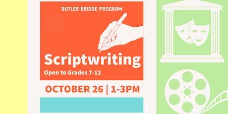 Scriptwriting - Specialty Workshop tickets