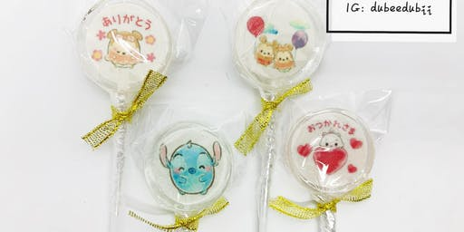 CUSTOMIZE LOLLIPOPS WORKSHOP DIY