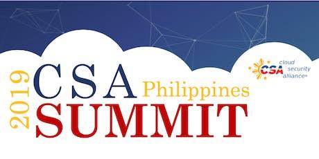 CSA Philippines Summit 2019 tickets