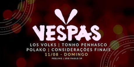 Vespas Mandarinas + convidados | Feeling | São Paulo SP ingressos