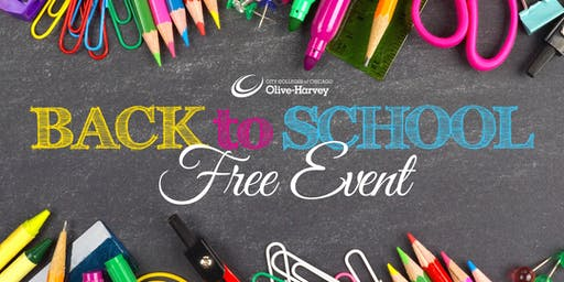 FREE Back to School Event(Evento Gratuito de Regreso a La Escuela)