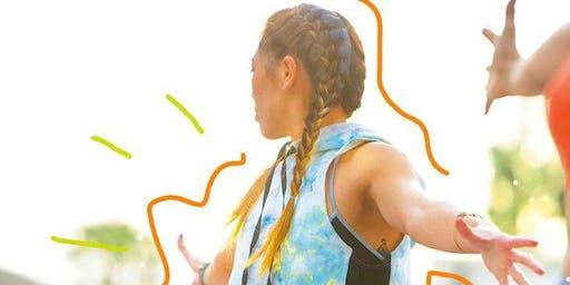 Open Newbury Sculpt Class with CorePower Yoga BackBay!