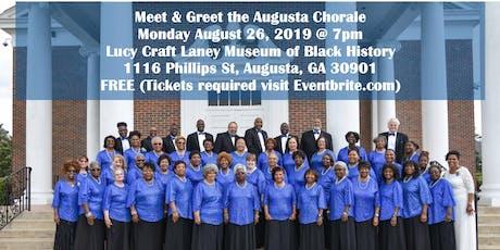 Annual Meet & Greet the Augusta Chorale tickets