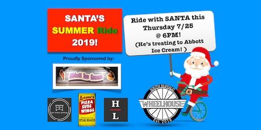 Santa's Summer Ride 2019