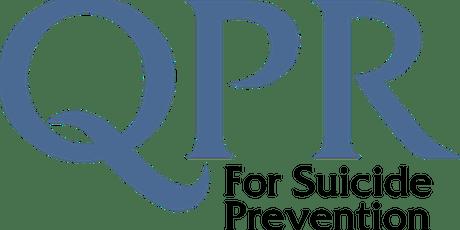 QPR - Suicide Gatekeeper Training (August 21st)  tickets