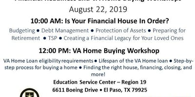 Financial Readiness and VA Home Buying Workshops