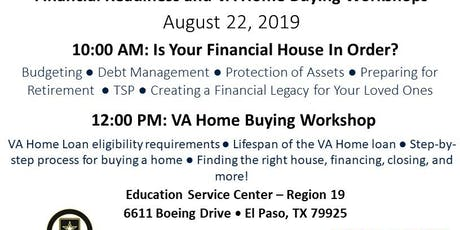 Financial Readiness and VA Home Buying Workshops tickets