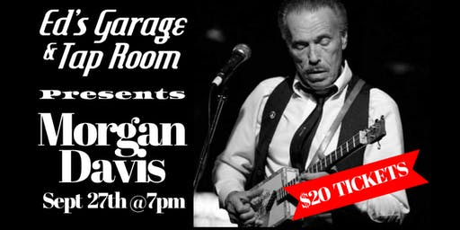 Morgan Davis Live At Ed's Garage And Taproom