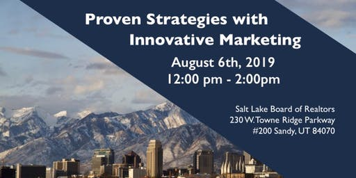 Proven Strategies w/ Innovative Marketing